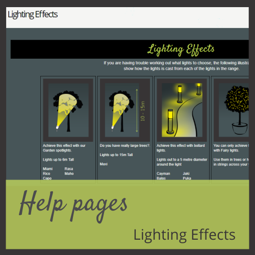 Lighting Effects
